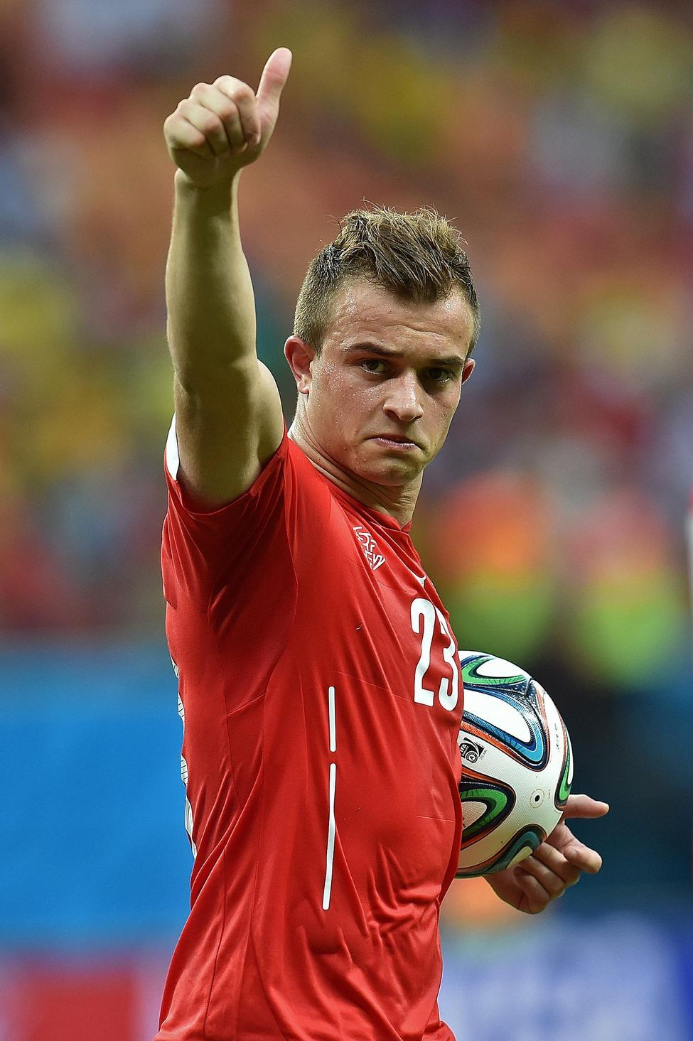 Xherdan Shaqiri Of Switzerland In The 2014 World Cup Fifa 2014 World Cup Liverpool Team World Football