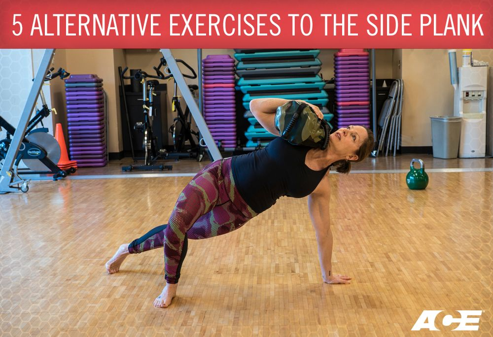 Side plank alternatives exercises to try get fit