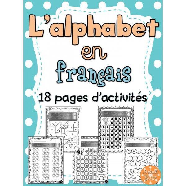 L 39 alphabet cahier d 39 activit s de l 39 l ve alphabet for Cuisinier francais 6 lettres
