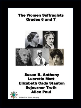 Reading Passages The Suffragists Reading Passages History Teaching Resources Middle School Language Arts