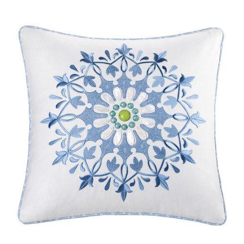 Found it at Wayfair - Sardinia Cotton Throw Pillow