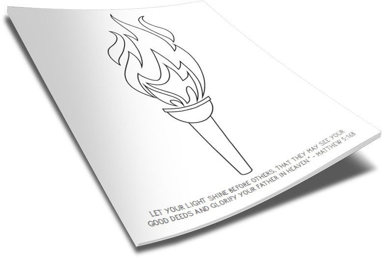 Olympic Torch Coloring Page Olympic Crafts Free Bible Coloring