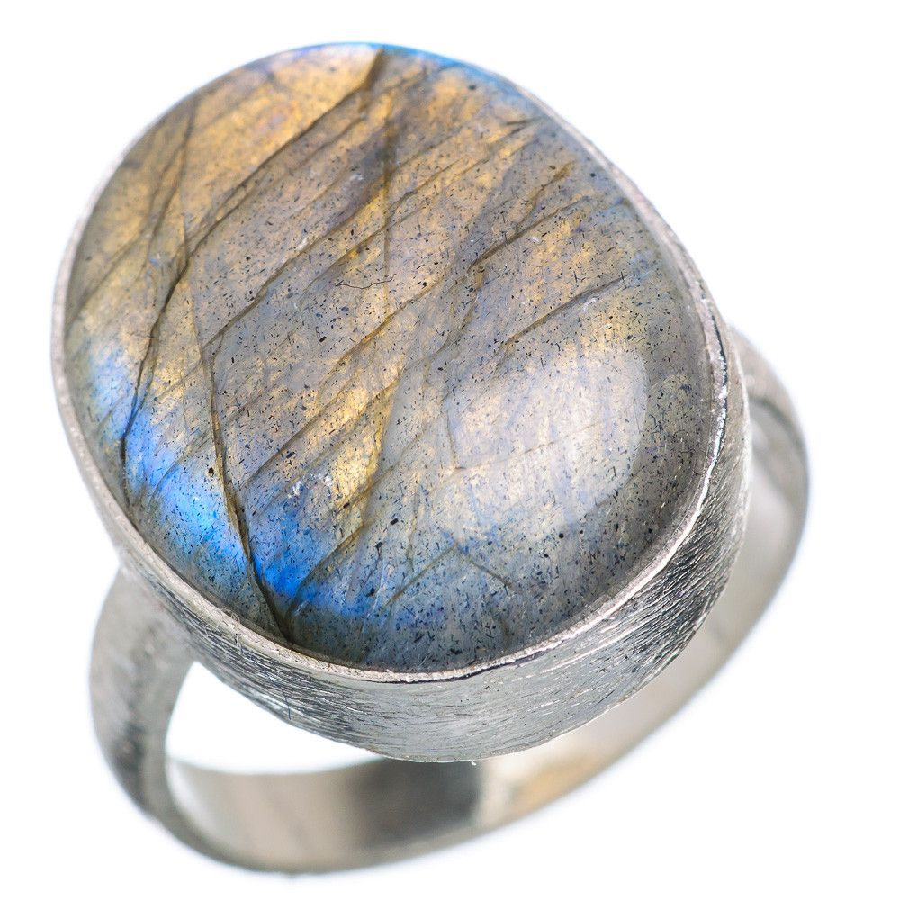 Labradorite 925 Sterling Silver Ring Size 8 RING668707