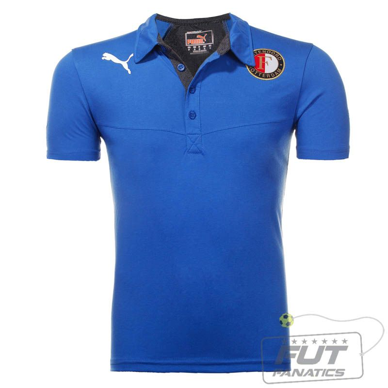 Polo Puma Feyenoord - Fut Fanatics - Compre Camisas de Futebol Originais de  Times do Brasil e Europa 66a07e25954eb