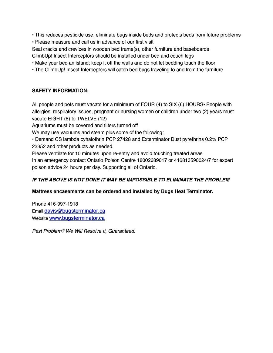 Bed Bug Residual Spray website in 2020 Bed bugs
