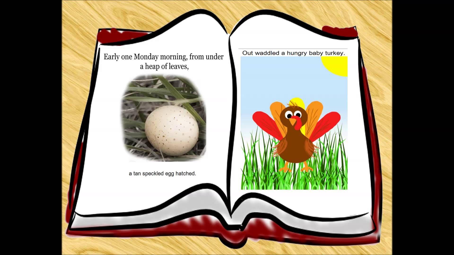 The Hungry Turkey Book Trailer Free Bird Vidoe Book With