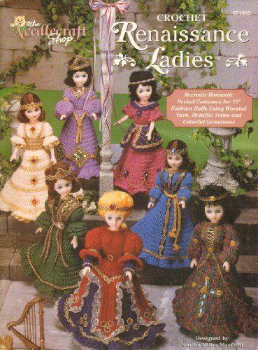 Crochet Renaissance Ladies by Sandra Miller Maxfield http://www.amazon.com/dp/B0064SHRT4/ref=cm_sw_r_pi_dp_L5O0vb15MKSY4