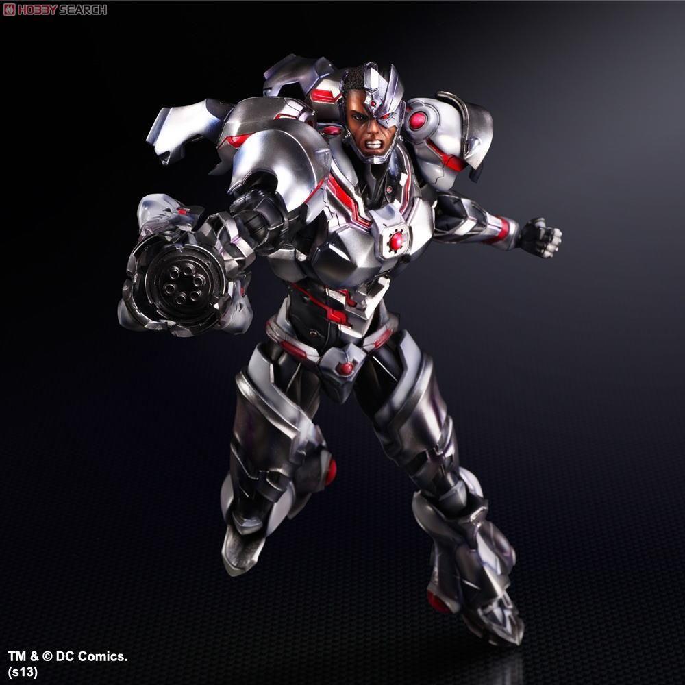 [close] DC Comics Variant Play Arts Kai Cyborg (PVC Figure
