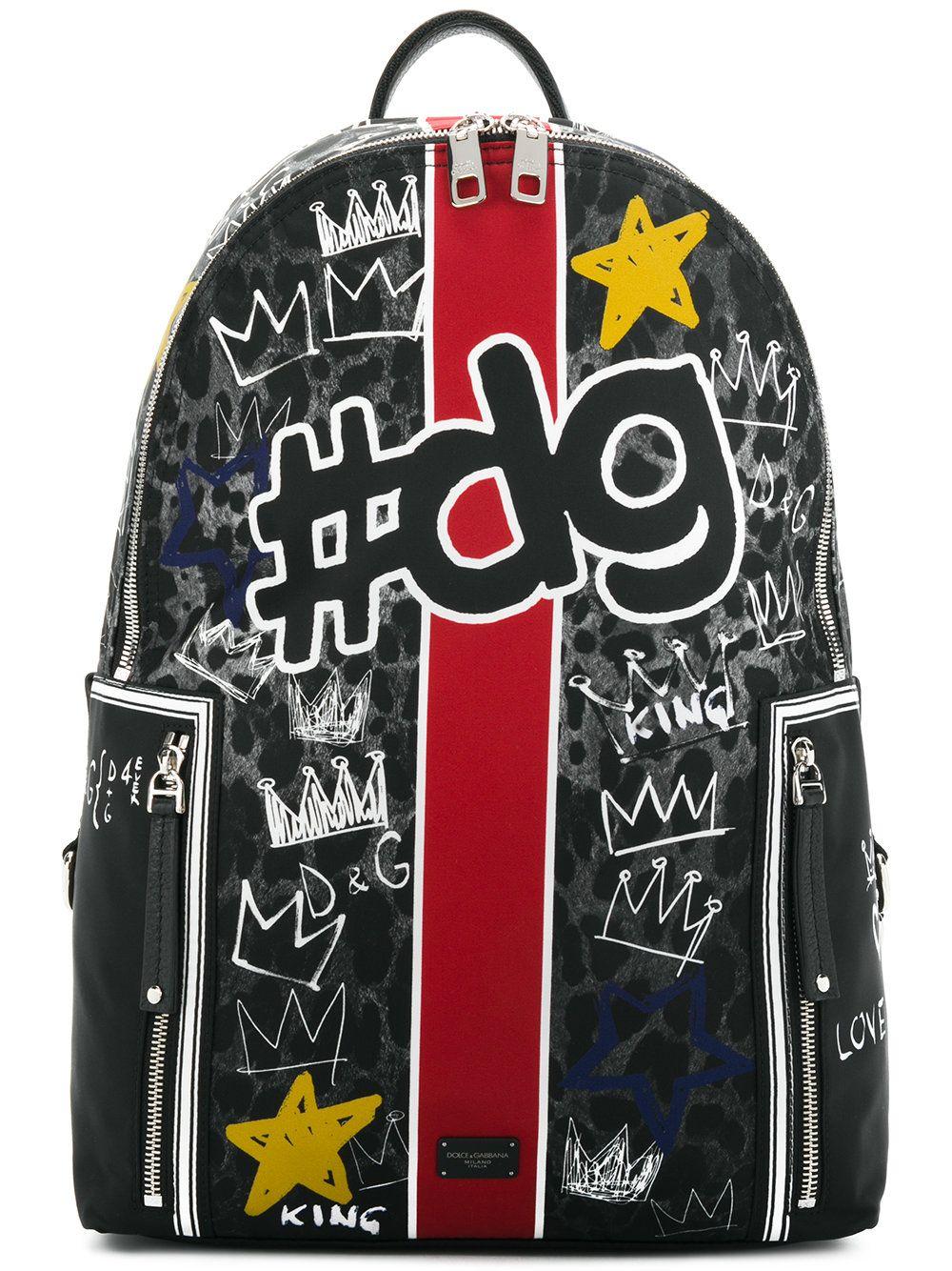 2adbbafa0ee4 DOLCE   GABBANA .  dolcegabbana  bags  backpacks  cotton