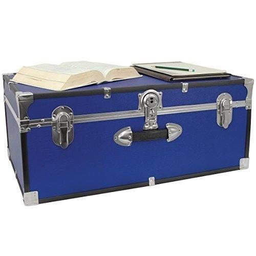 Storage Trunks For College Dorm Room Storage Organizer 30 Inch College Trunk Lockable