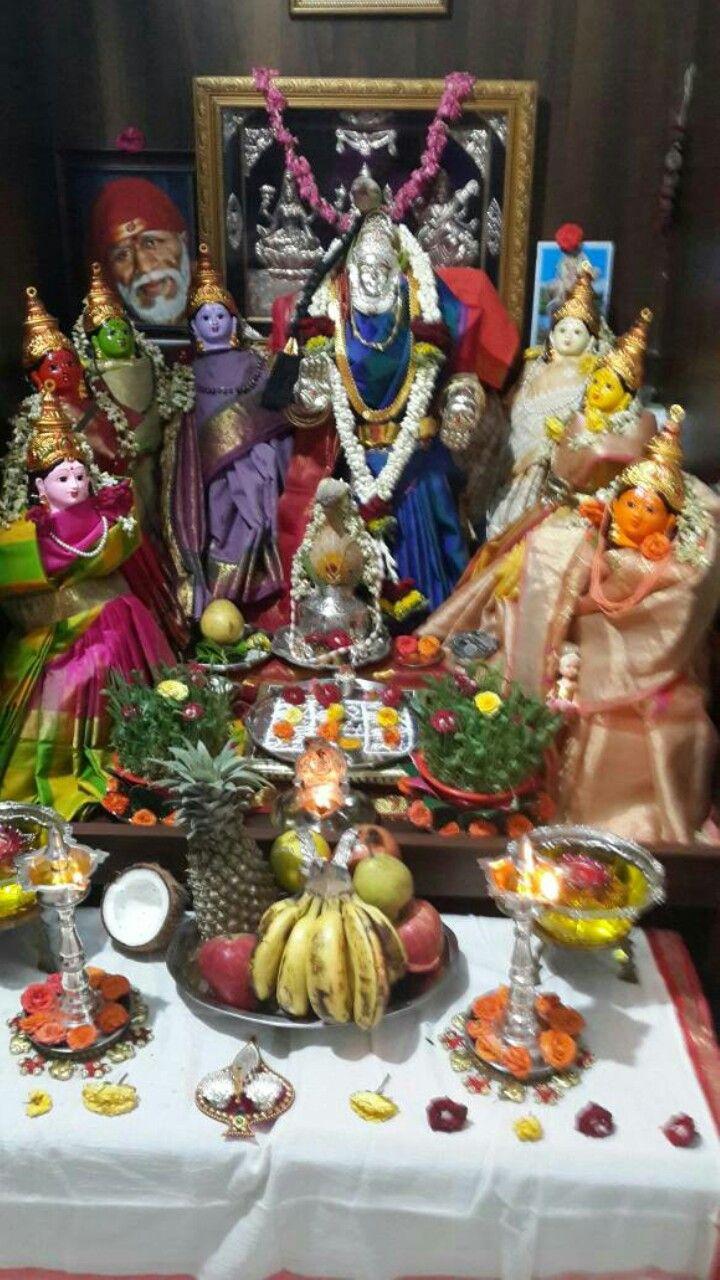 ashtalakshmi decoration at my home for varamahakashmi festival ashtalakshmi decoration at my home for varamahakashmi festival
