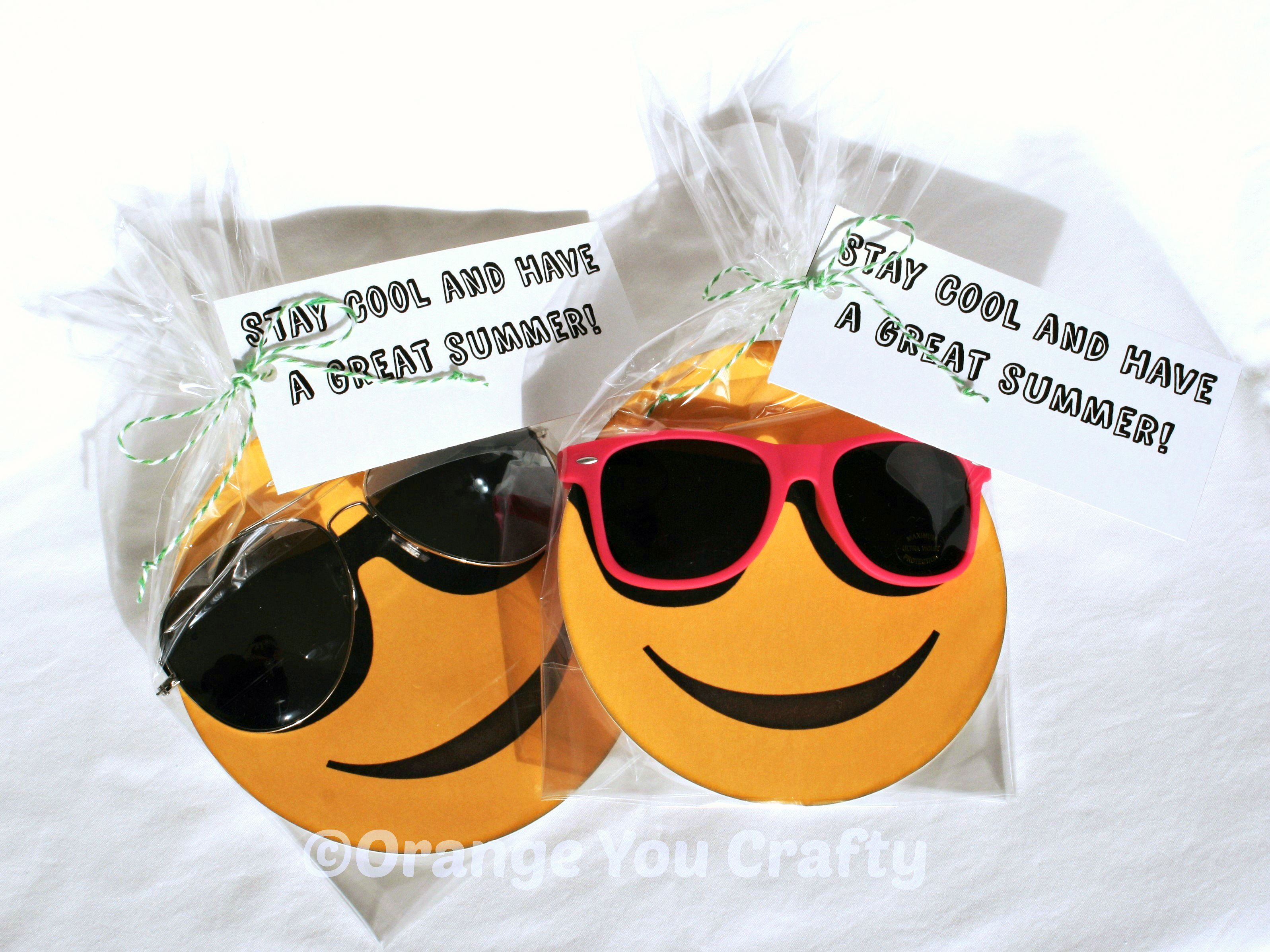 Cool for the Summer – End of Year Teacher Gift | Orange You Crafty ...