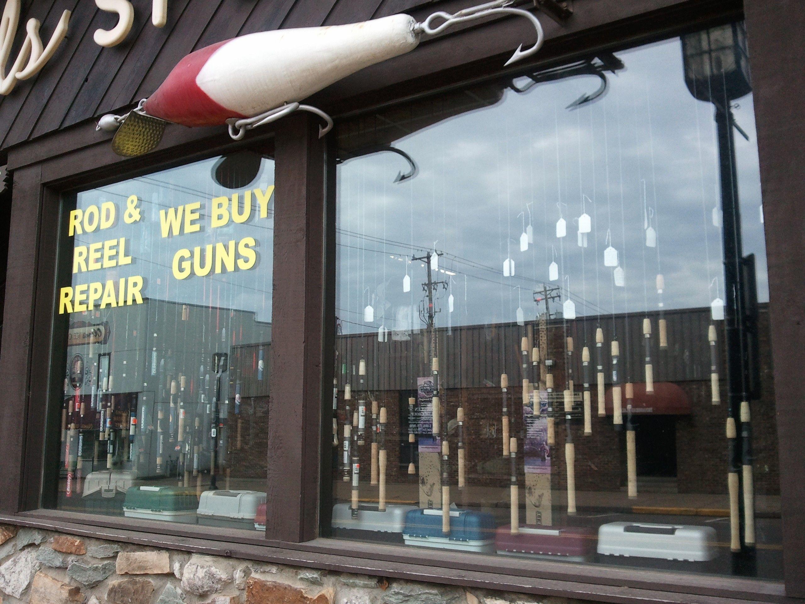 Bills sport shop rods reels at 620 n bridge st