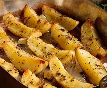 This is my favorite way to make potatoes! Try with fish, fowl or meat.