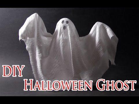 DIY Halloween crafts - Ghost - Halloween decorations - Ana DIY