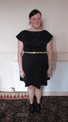 Disaster In A Dress: When good dresses happen to bad fabric - By Hand London Anna Dress #2