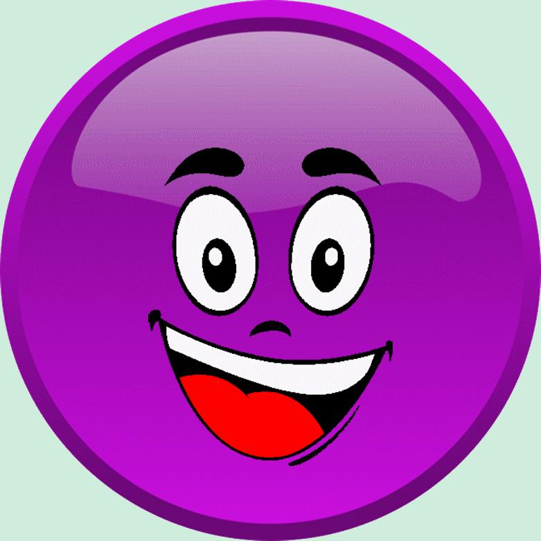 Cg Smiley Violet Heureux Emoticone Clipart Cartoon Telechargement Gratuit Et Sans Inscription Purple Emoji Funny Emoji Faces Emoji Love