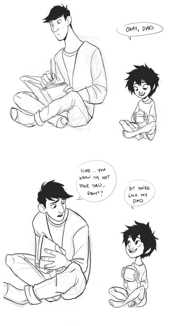 2/4 OH MY GOSH BABY HIRO CALLED TADASHI DAD! :D THIS IS