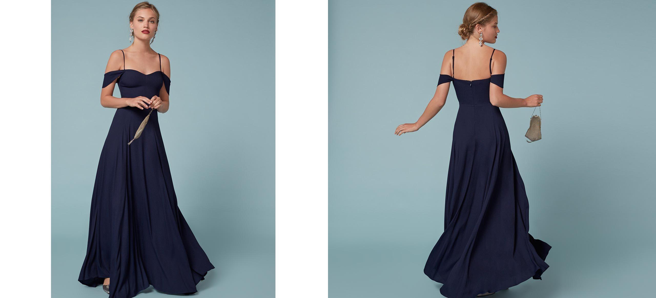 Poppy Dress | Floor length dresses, Cold shoulder and Poppy dress