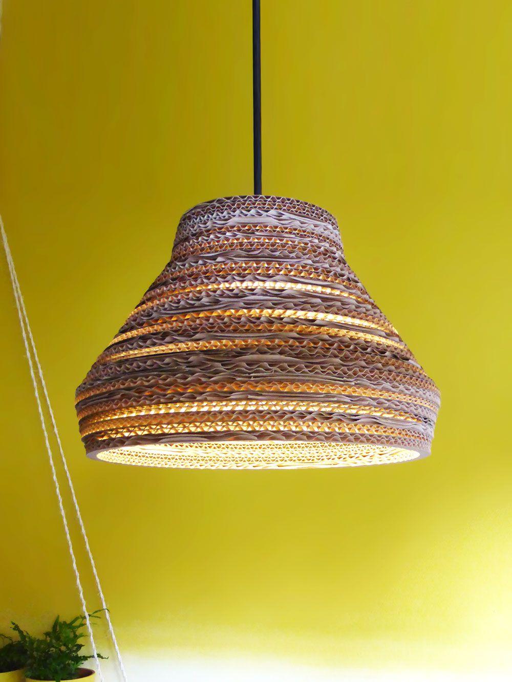 Kartonnen lamp Salu Light Ø 30cm