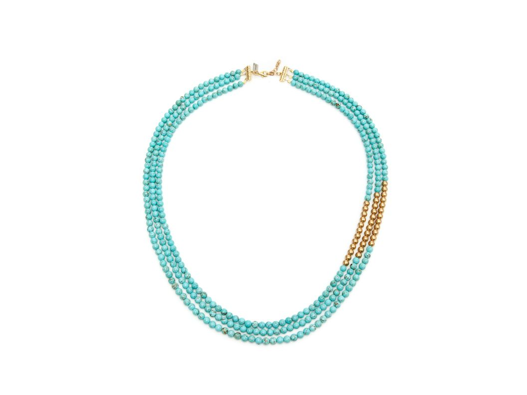 K. Amato Triple Strand Necklace