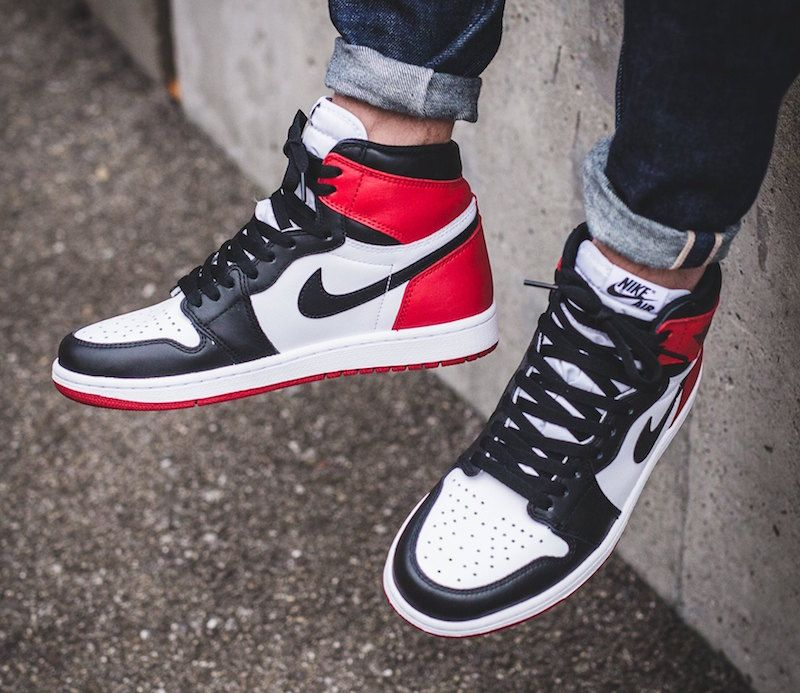 promo code 43503 3e799 Air Jordan 1 OG Black Toe Retro 2016 Release Date - SBD | Freestyle ...