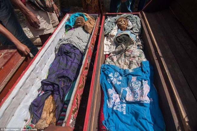 In Toraja society death rituals are more important than any other rituals including births and marriages. Hence why the corpse cleaning ceremony is such a big part of life there.