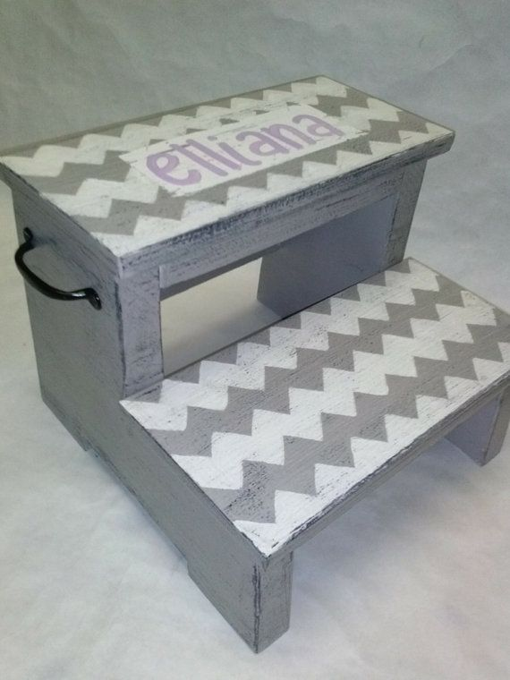 Children S Step Stool With Handles Childrens Step Stool