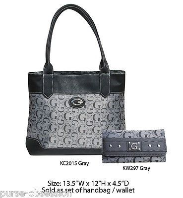 cool Gray Women Ladies Designer Inspired Fashion Satchel Shoulder Bag with Wallet - For Sale View more at http://shipperscentral.com/wp/product/gray-women-ladies-designer-inspired-fashion-satchel-shoulder-bag-with-wallet-for-sale/