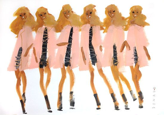 Donald Drawbertson gets into the swing of fall with Lisa Perry's latest collection.