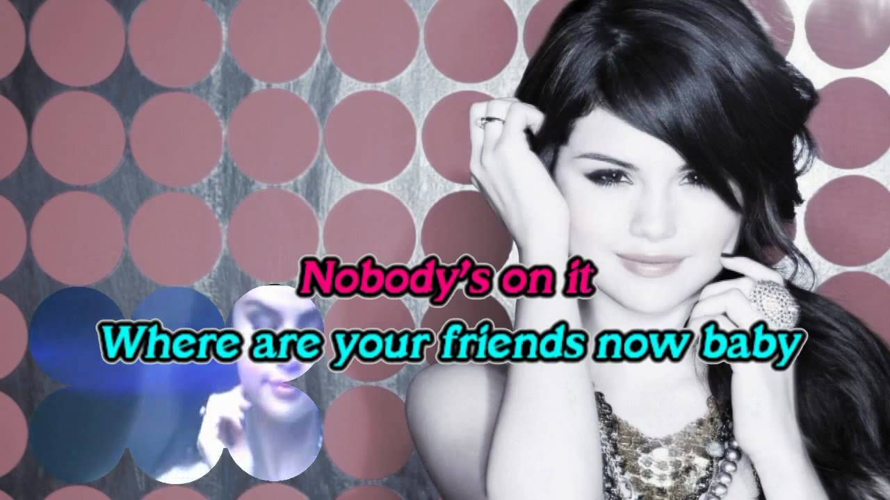 Falling Down Karaoke Selena Gomez Hd Selena Gomez Karaoke Selena