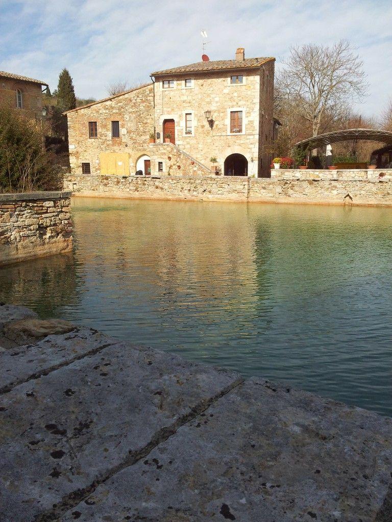 Bagno Vignoni Toscana Panoramico Bagno