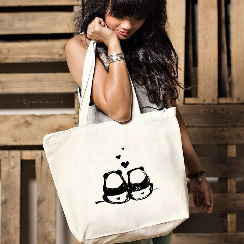 Everything is awesome with this Steppie tote bag. The cutest panda couple tote bag perfect all - purpose over the shoulder bag.  https://www.pandaloon.com/products/steppie-panda-bums-tote-bag