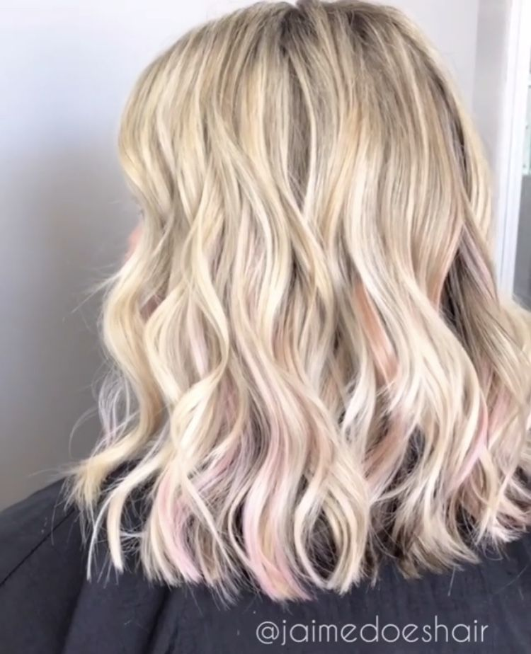 45 Pretty Pink Ombre Hair To Try Immediately Lovehairstyles Com Pink Ombre Hair Pink Blonde Hair Blonde Hair With Highlights
