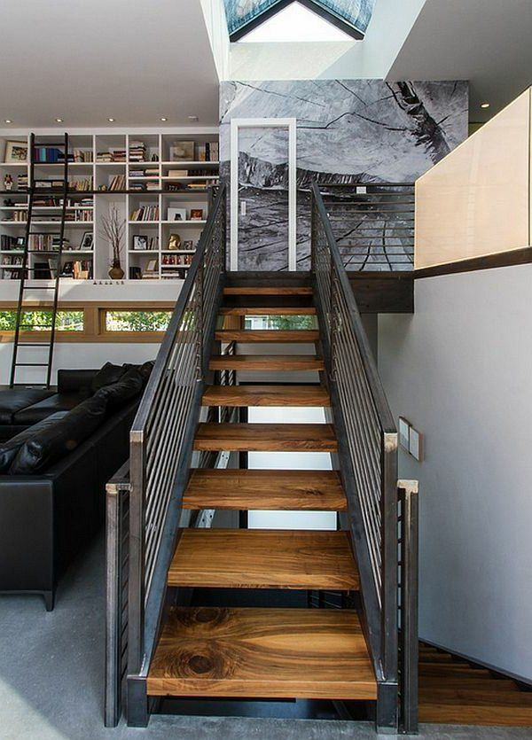 choisir un escalier pour mezzanine pour son loft future. Black Bedroom Furniture Sets. Home Design Ideas