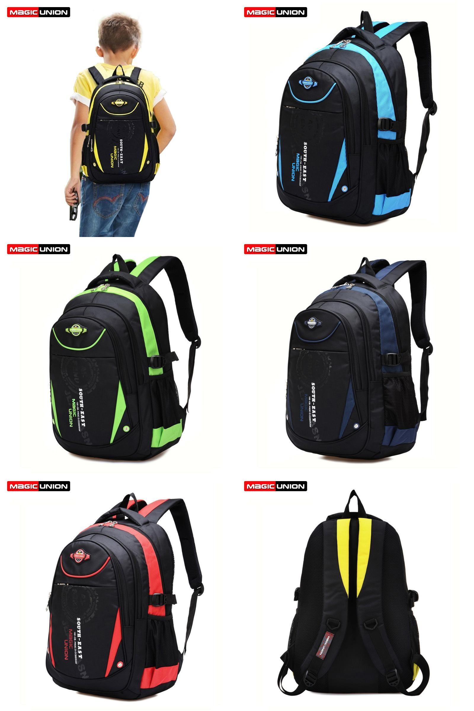 38002c773c08  Visit to Buy  MAGIC UNION High Quality School Bags for Boys Girls Children  Backpacks