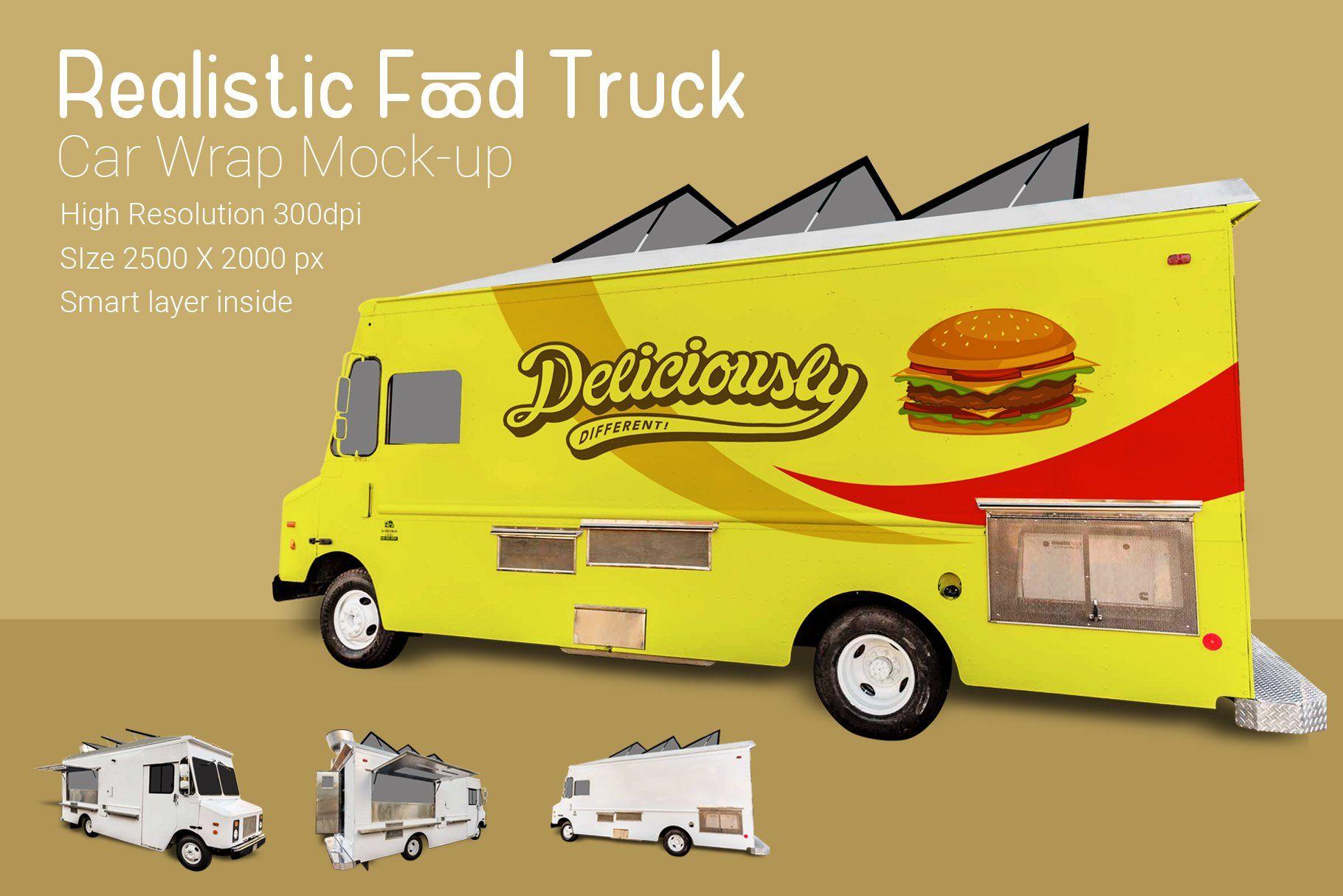 Food truck mockup food truck mocking used food trucks