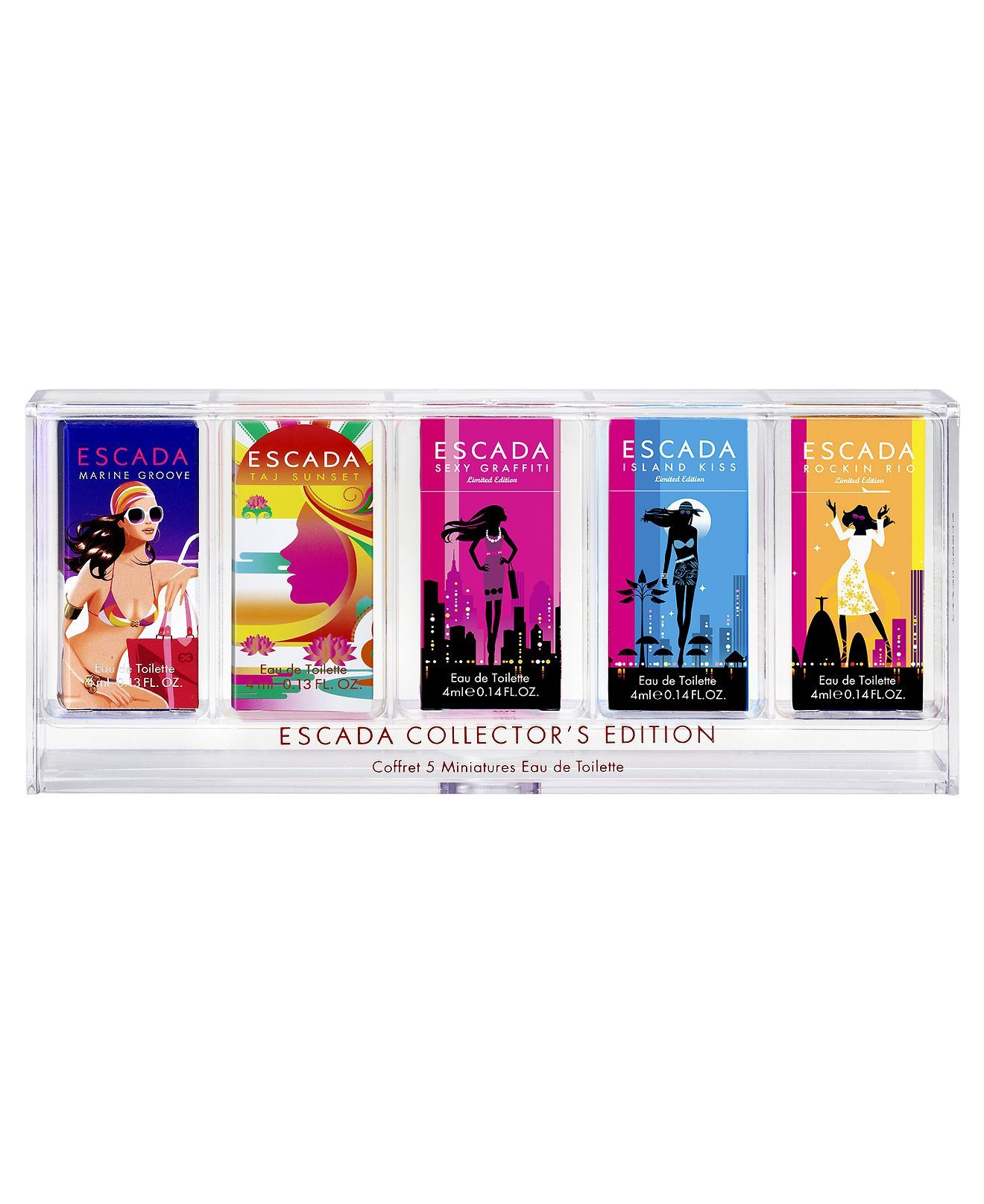 Escada Mini Collection Fragrance Coffret Perfume