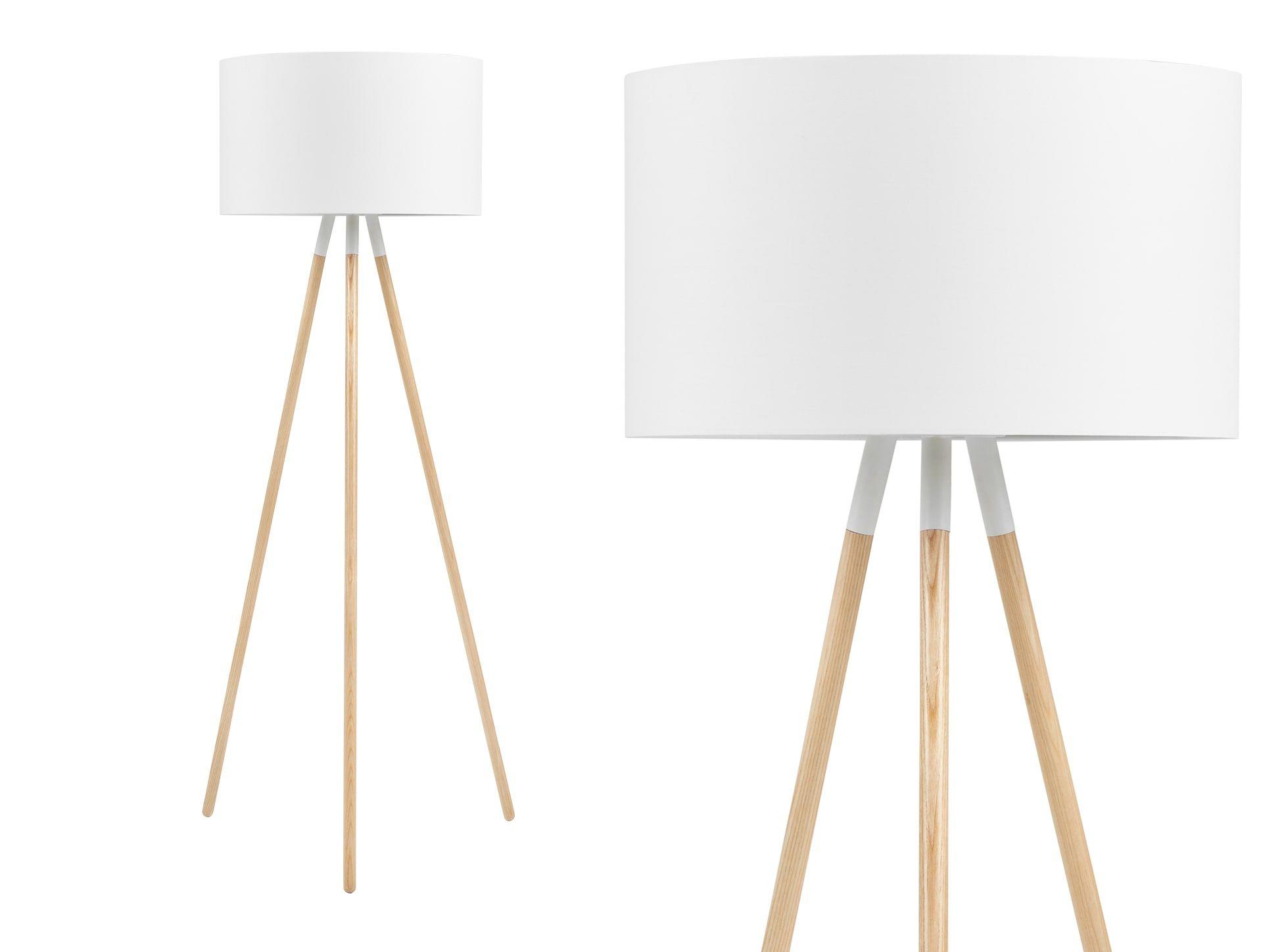 eric tripod stehlampe wei lampe wz pinterest. Black Bedroom Furniture Sets. Home Design Ideas