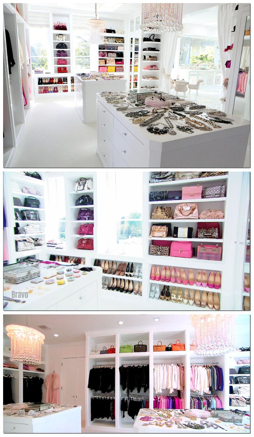Closet Of Lisa Vanderpump Housewives Beverly Hills