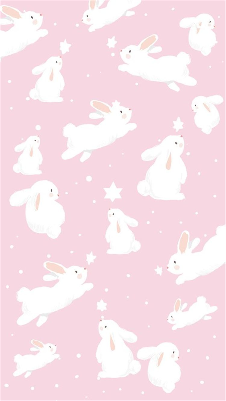 Simple Yet Cute Easter Wallpapers You Must Have This Year Women Fashion Lifestyle Blog Shinecoco Com Bunny Wallpaper Easter Wallpaper Rabbit Wallpaper