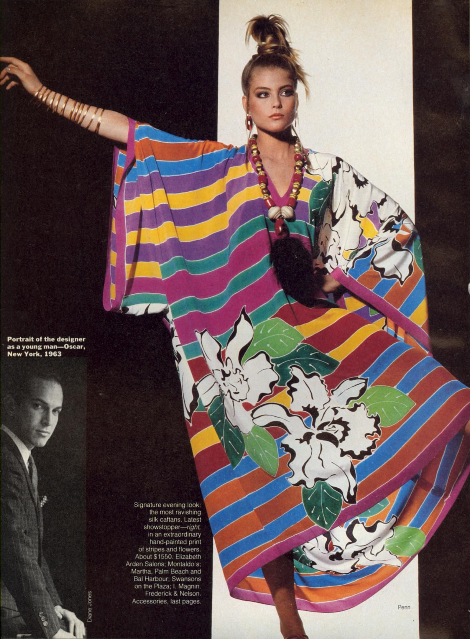 Kim Alexis by Irving Penn - US Vogue May 1982