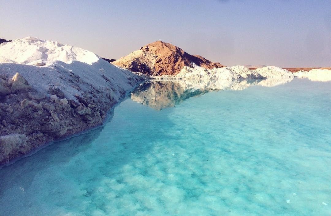 Salt Lake In Siwa Oasis Egypt 3 Hidden Gems Of Egypt With