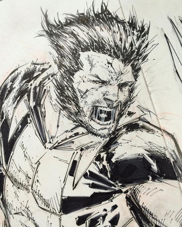 Wolverine by Adeslo Corona