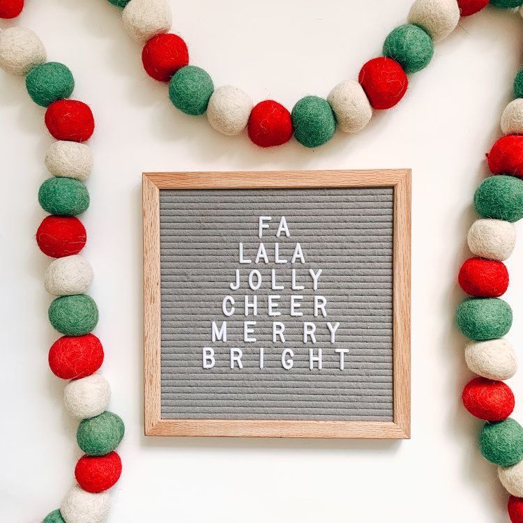 Catchy Letter Board Quotes for the Holidays — Hustle Sanely® by Jess Massey
