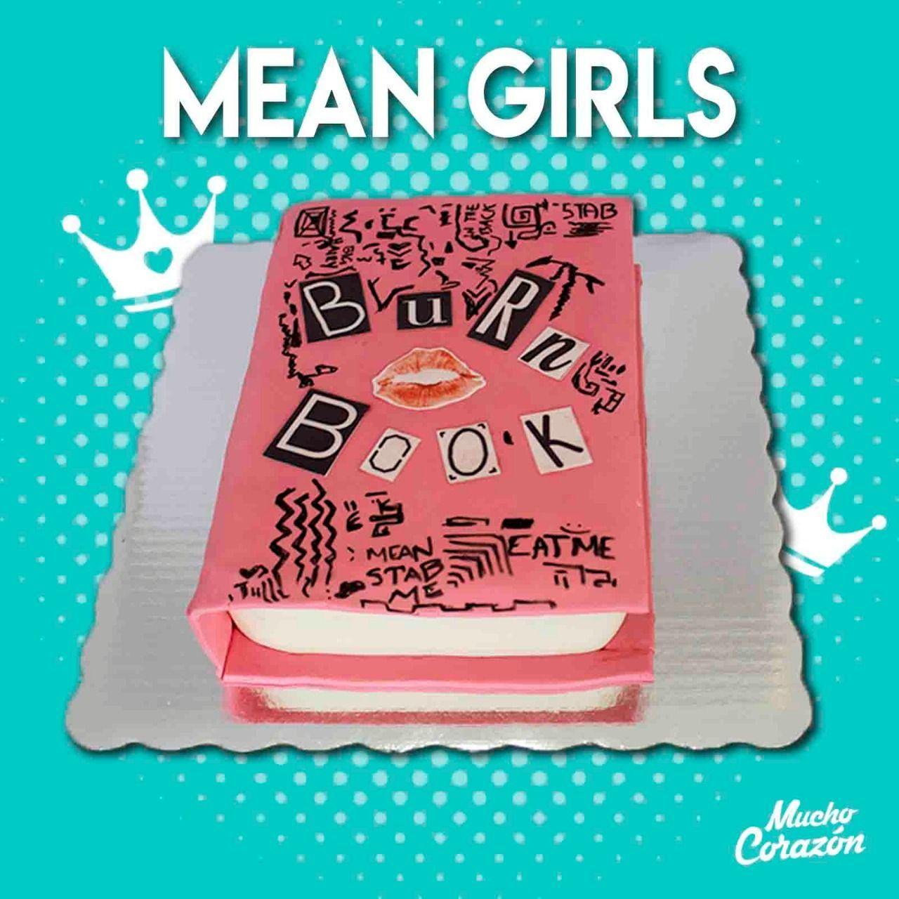 Libro Del Mal Chicas Pesadas Libro Del Mal Chicas Pesadas Pasteles Personalizados Reposteria Artesanal Pasteles Originales