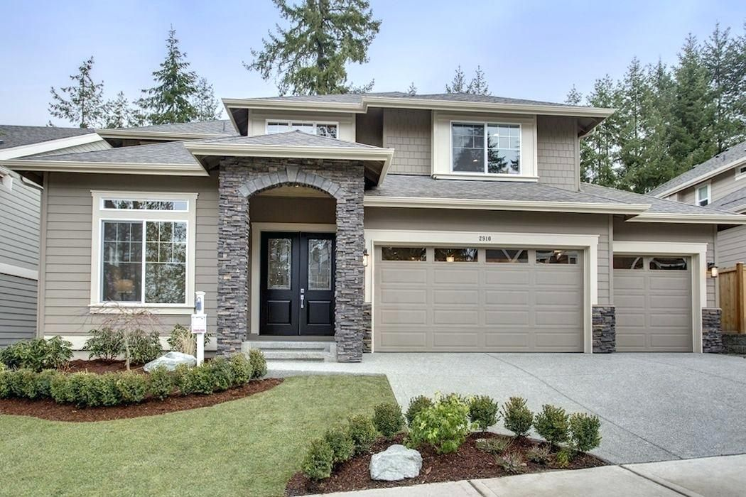Sherwin Williams Renton Exterior Home Color Is Virtual Taupe By
