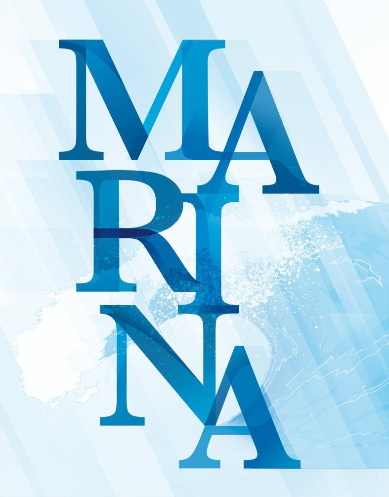 Propuesta Tipografica Para La Opera Marina Tea For Two Tipografico Opera Carteles Modernos