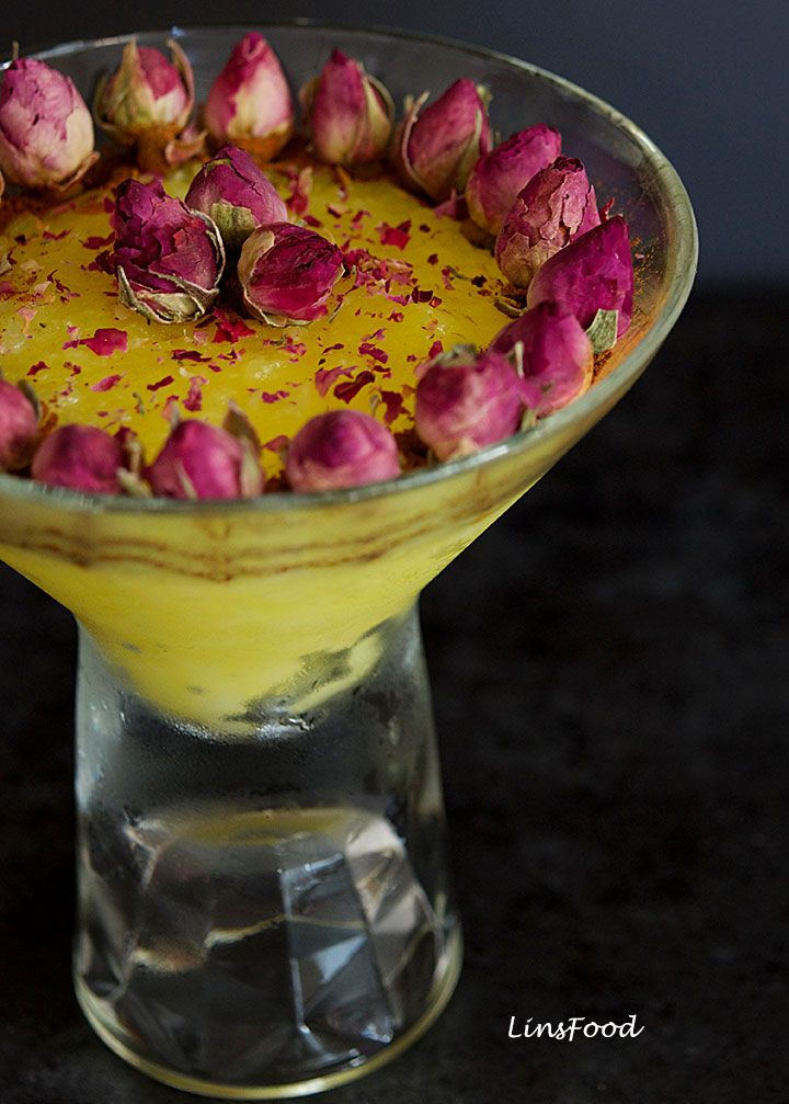 Persian Saffron Rice Pudding (Sholeh Zard) | Recipe ...