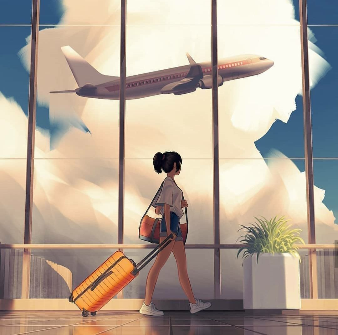 Image about travel in illustration 💙 by n2srin 3bd